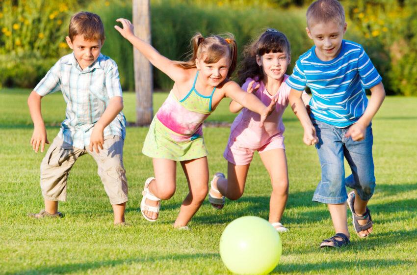 Роль двигательной активности в  формировании личности детей дошкольного возраста