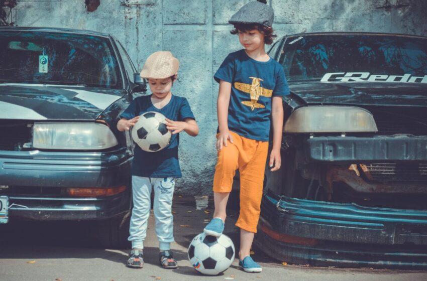 Футбол и фитнесс для дошкольников