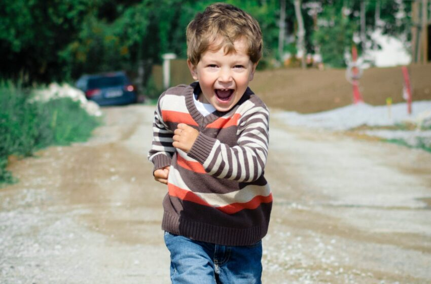 Оздоровительный бег в детском саду